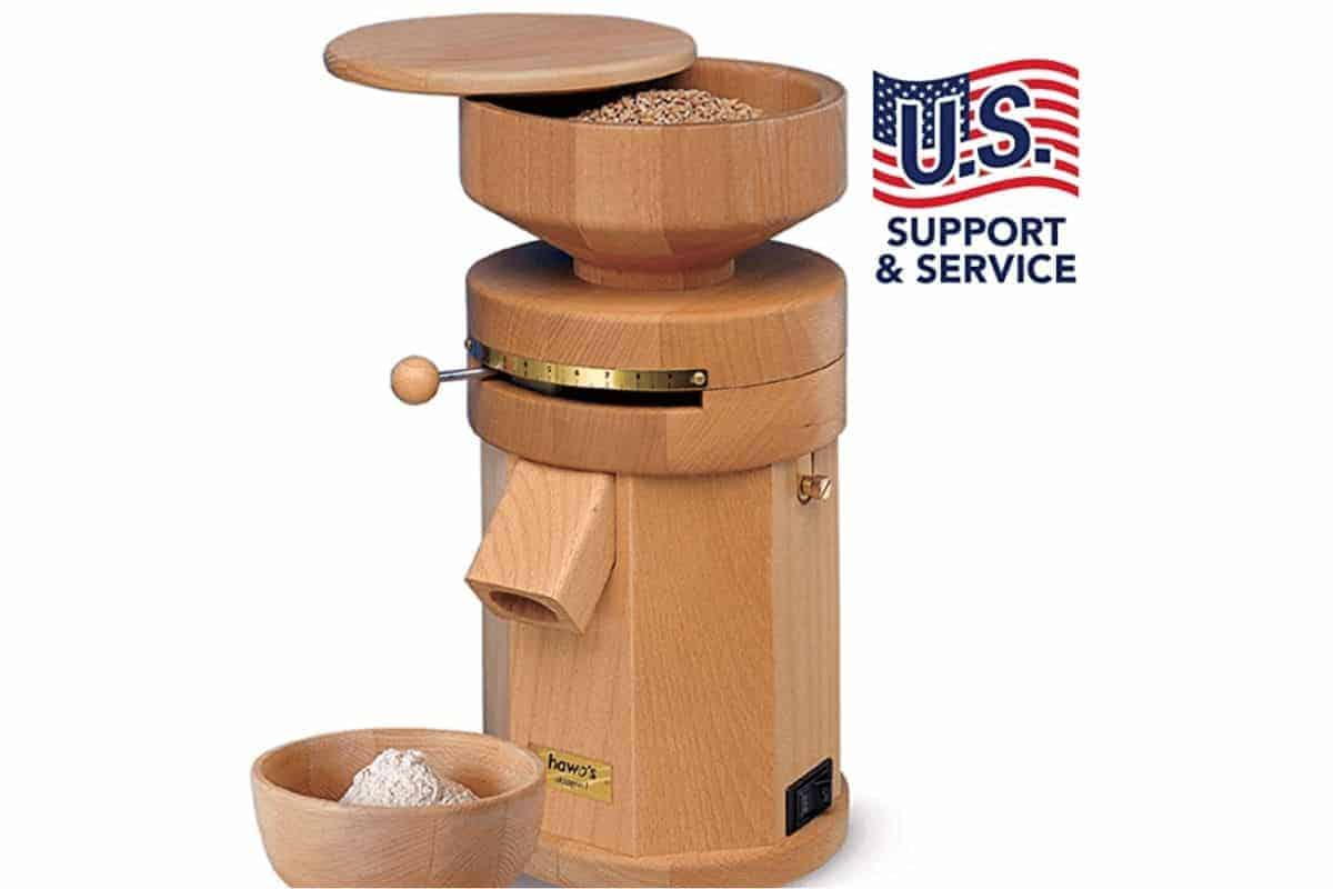 Using a grain mill to mill your own flour