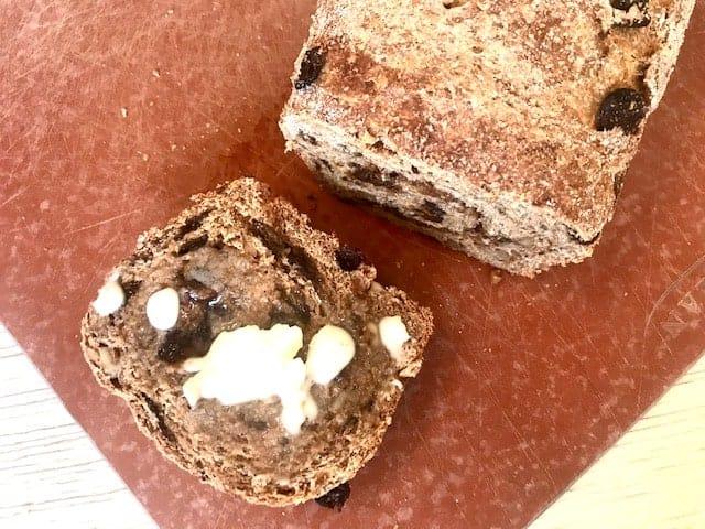 ww cinnamon raisin bread