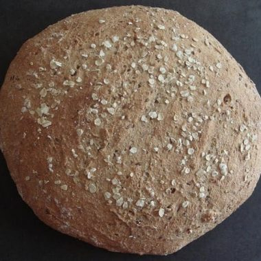 Oat and flax bread recipe