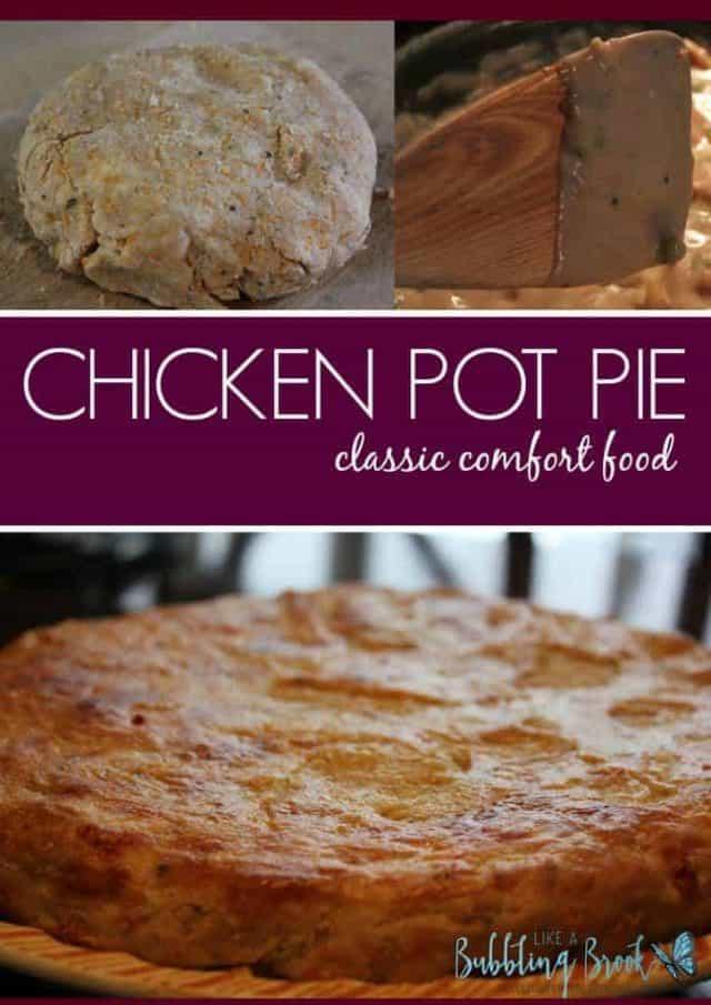 Chicken Pot Pie Casserole Recipe