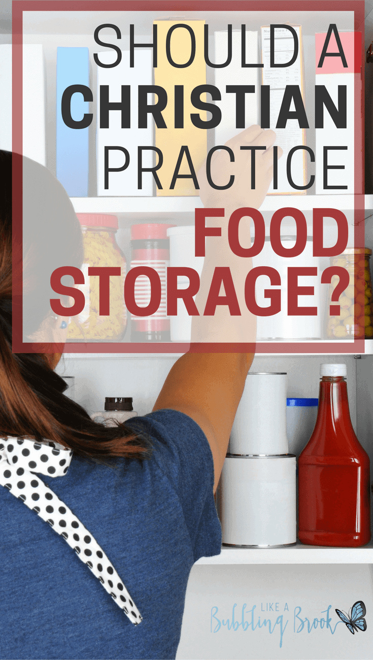 SHOULD A CHRISTIAN PRACTICE FOOD STORAGE- (1)