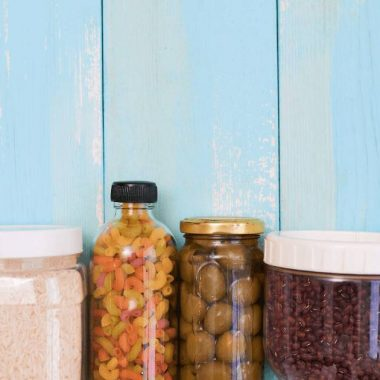 Jars in food storage