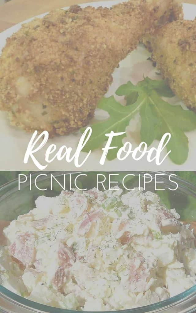 Real Food Picnic Recipes: Buttermilk Chicken and Cultured Potato Salad