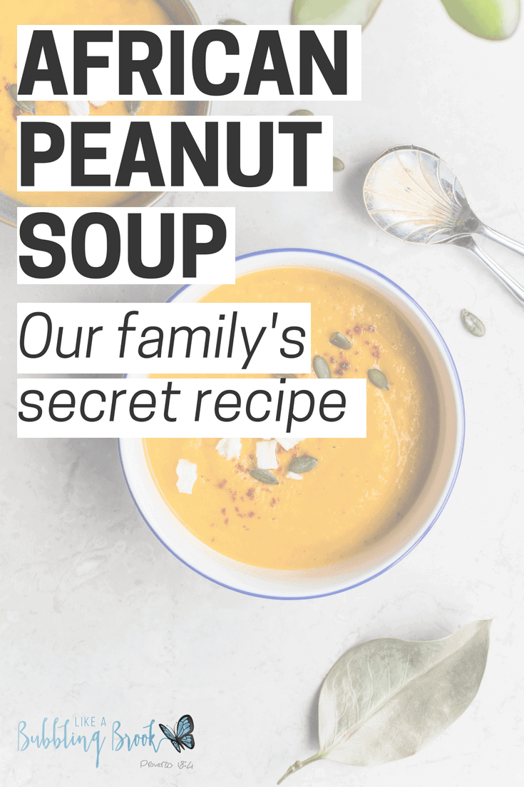 African Peanut Soup - Our Family's Secret Recipe