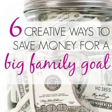 creative way to save money
