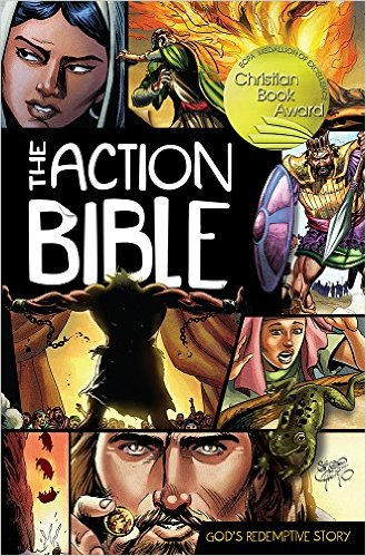 The Action Bible - one of the best kids bibles