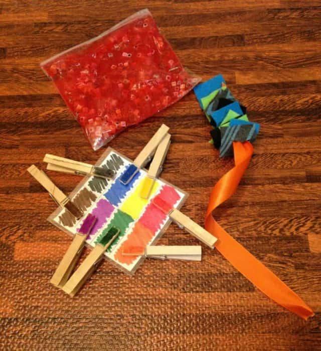 DIY busy bag activities
