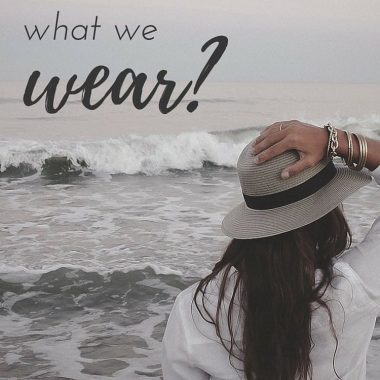 Does God care about what we wear?