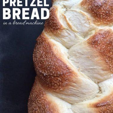 Pretzel Bread Recipe