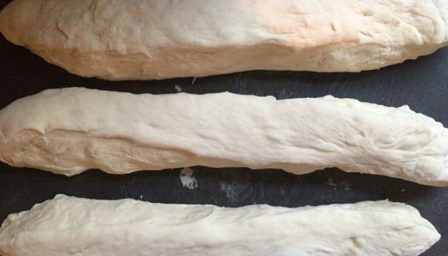 pretzel bread recipe dough divided