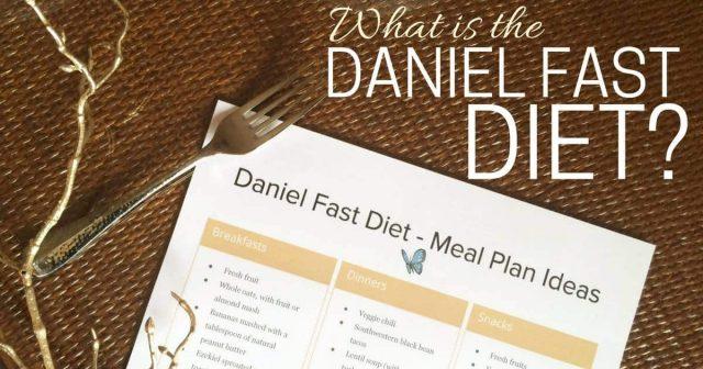 Daniel Fast Diet - FB
