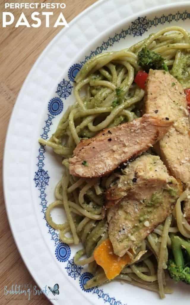 Pesto Pasta Pinnable