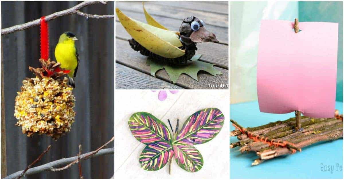 Beautiful Nature Crafts For Kids Fb Link Faith Finance Like