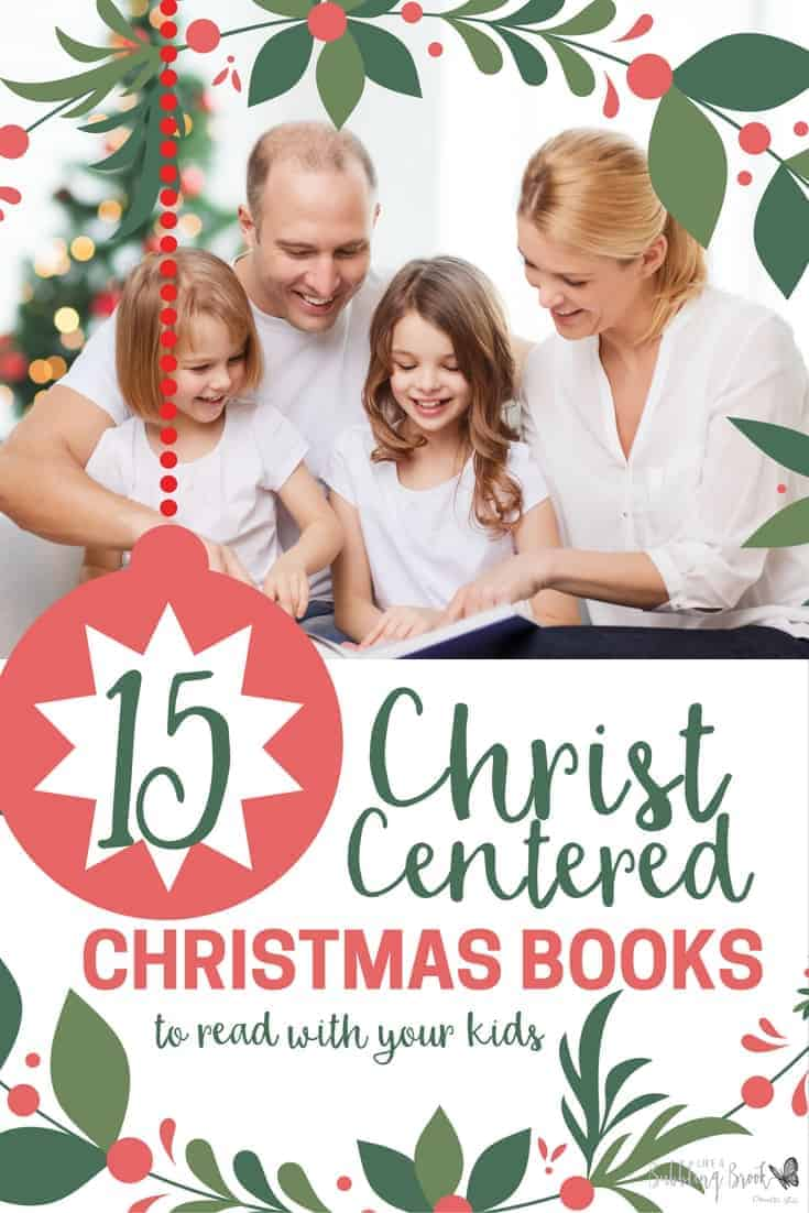 Don't you love Christmas stories? These Christ Centered Christmas books will help you keep your focus on the real reason for the season!