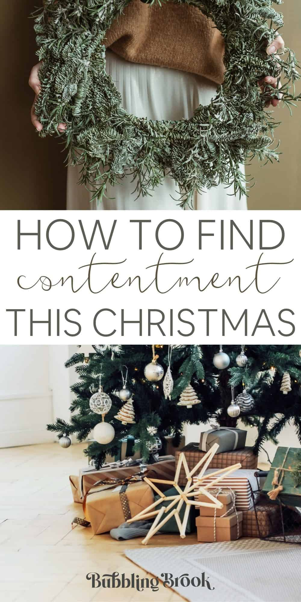 How to find contentment this Christmas