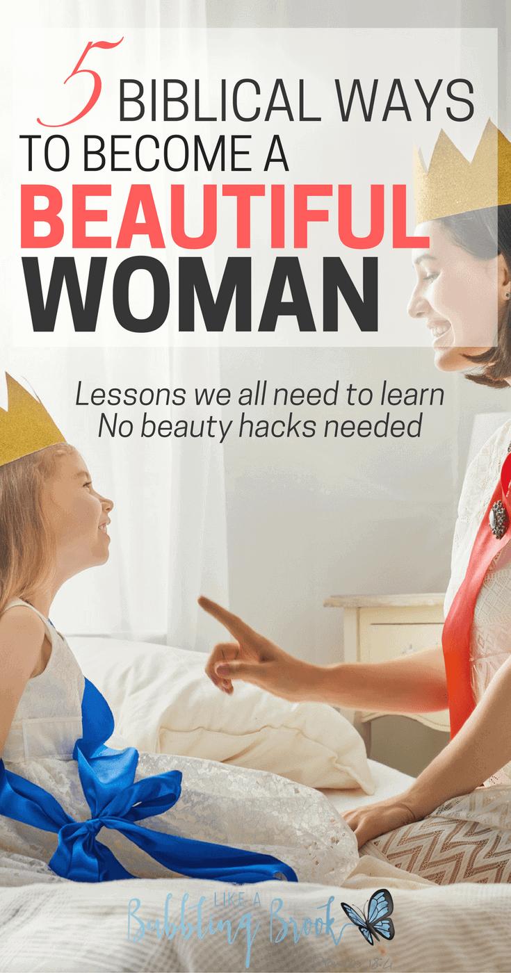 NO BEAUTY HACKS NEEDED- Biblical ways to become a beautiful woman (1)