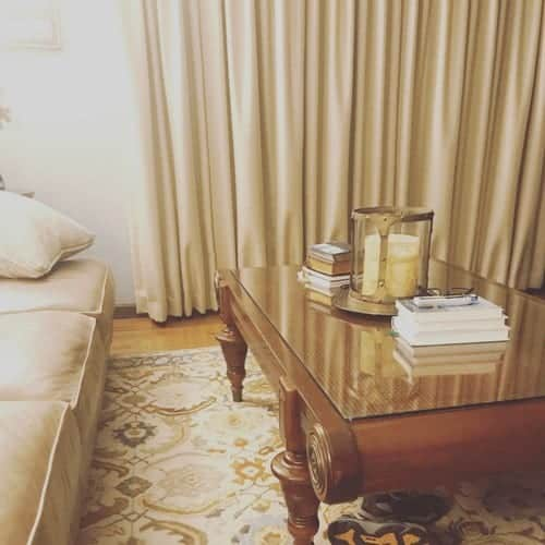 Debt free house - living room