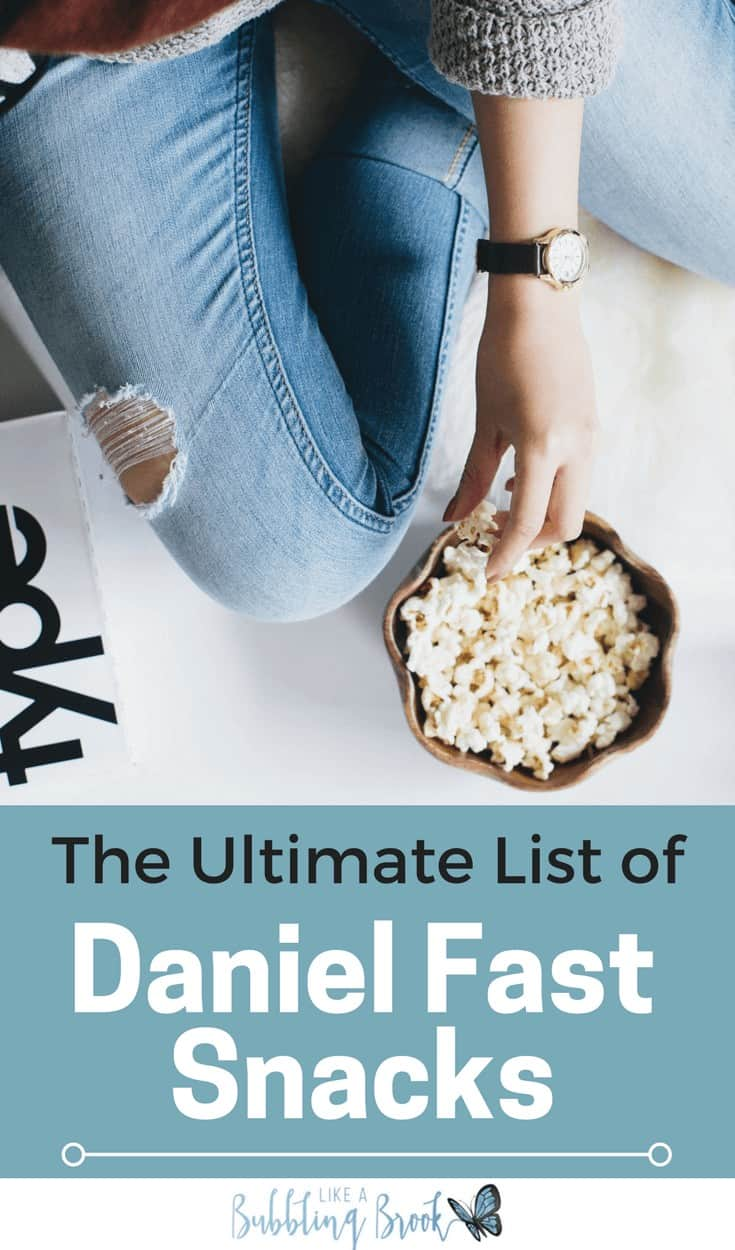 Are snacks allowed on the Daniel Fast? Here are tons of ideas for Daniel Fast snacks!