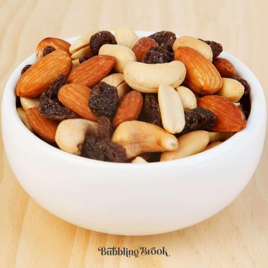 trail mix as a daniel fast snack