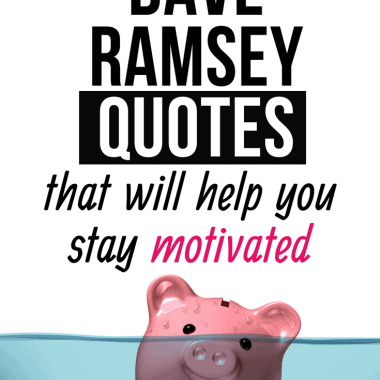 Dave Ramsey quotes that will help you stay motivated (1)