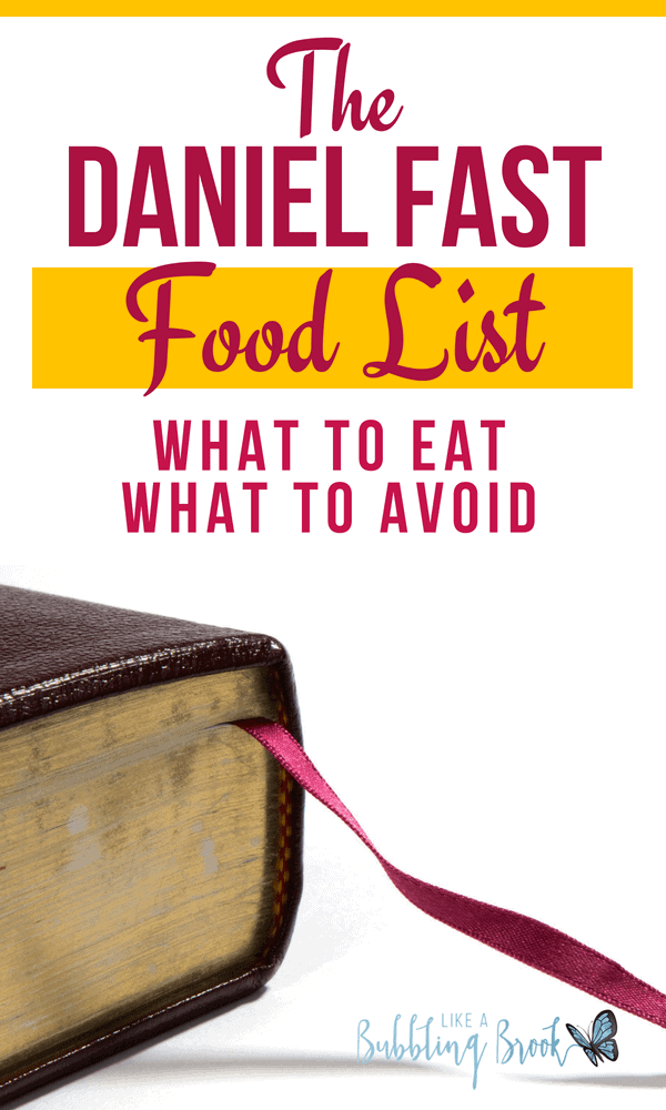 The Daniel Fast Food List What You Should Eat And Avoid During