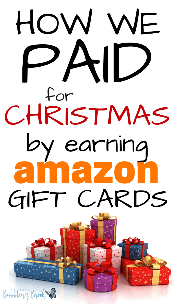 Super easy way to earn Amazon gift cards from home!!!!