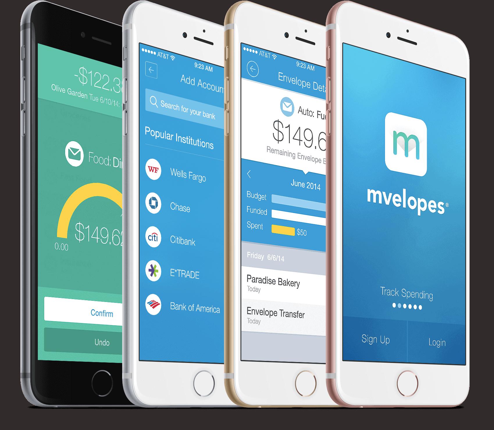 Mvelopes review virtual envelope budget system app