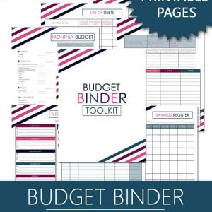 Printable Budget Binder Toolkit