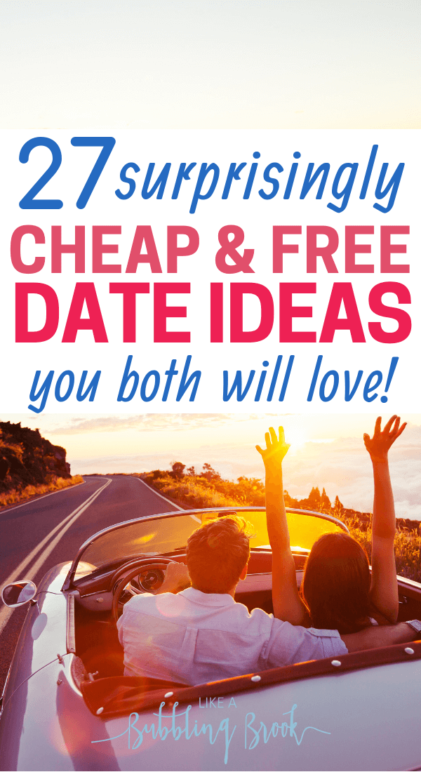Cheap or free date ideas