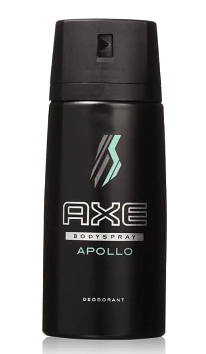 Axe Body Spray - Photo of Apollo scent spray