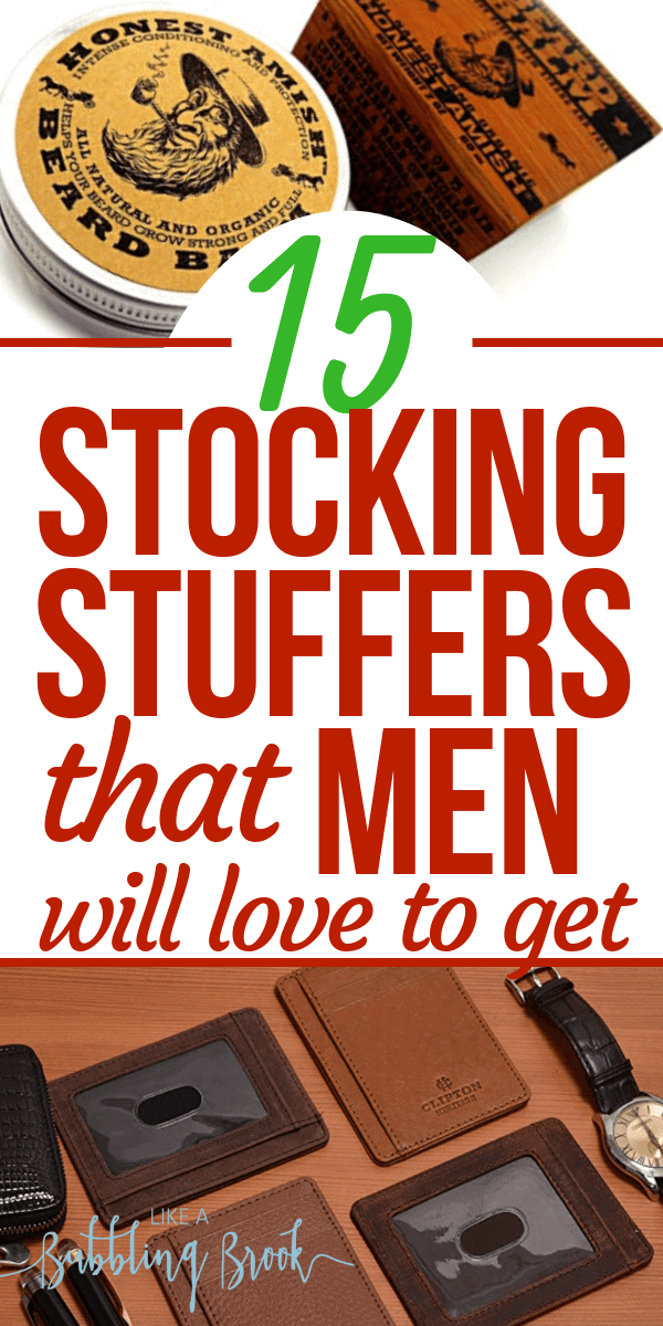 Stocking stuffer ideas for men that they'll love to get this Christmas (and they're all on Amazon)