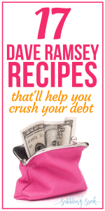 17 Dave Ramsey recipes that'll help you crush your debt