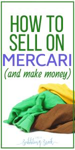 Selling on Mercari tips