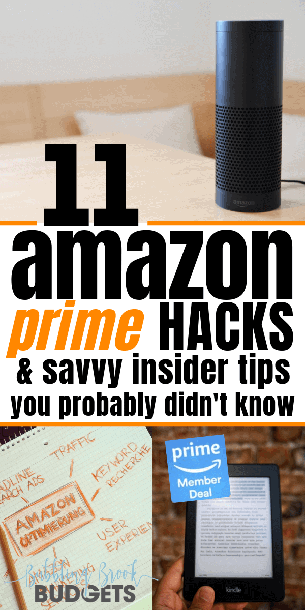 11 easy Amazon Prime hacks and savvy Amazon tips. Shopping, shows, movies, and more! Plus get 30 days free! I love Amazon shopping!