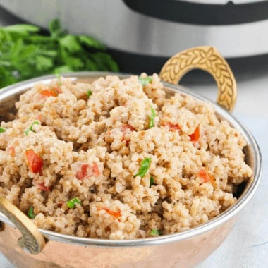 Bulgur wheat salad instant pot recipe