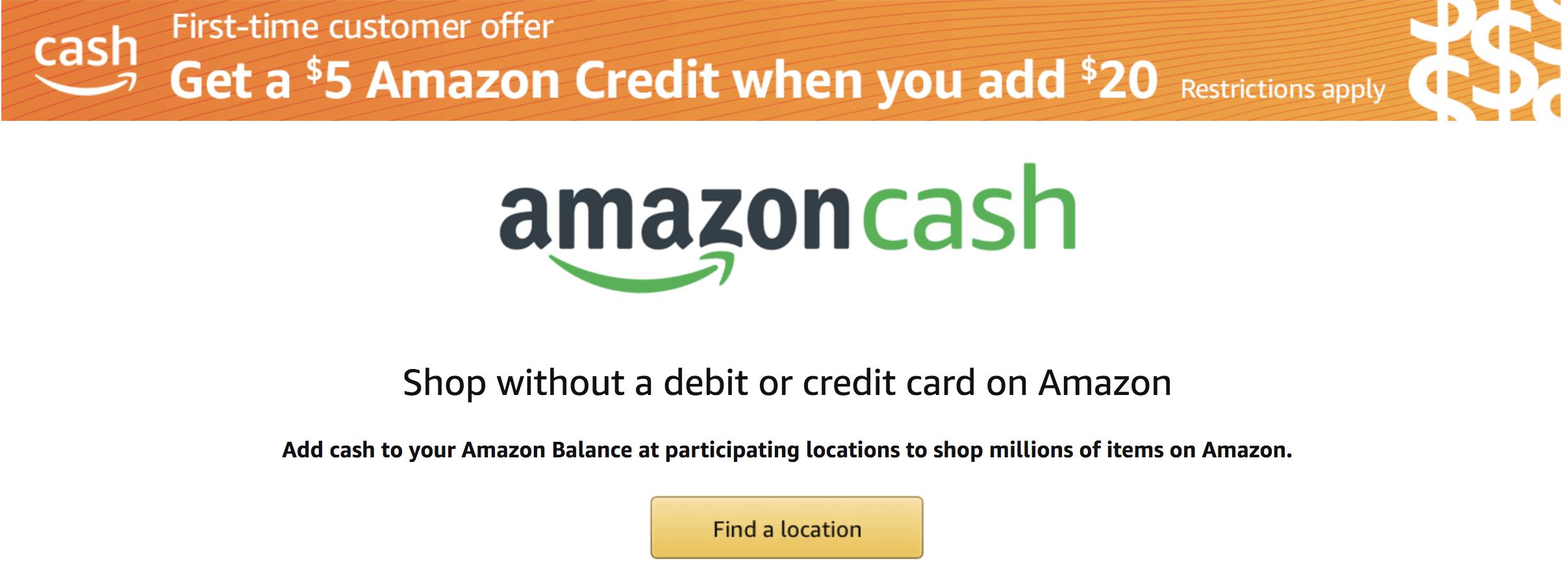 Amazon Prime Hacks - Amazon Cash