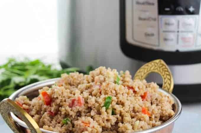 Bulgur wheat salad instant pot recipe