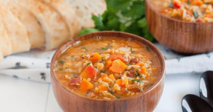 lentil soup facebook