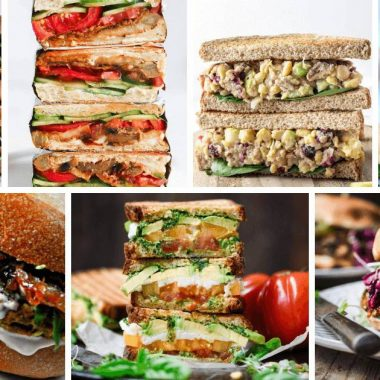Vegan Sandwich Ideas collage