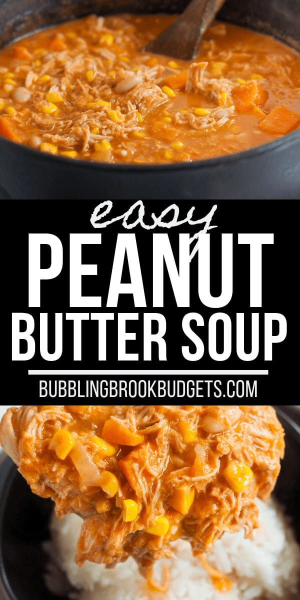 African Groundnut Soup Peanut Butter Soup Recipe pinterest