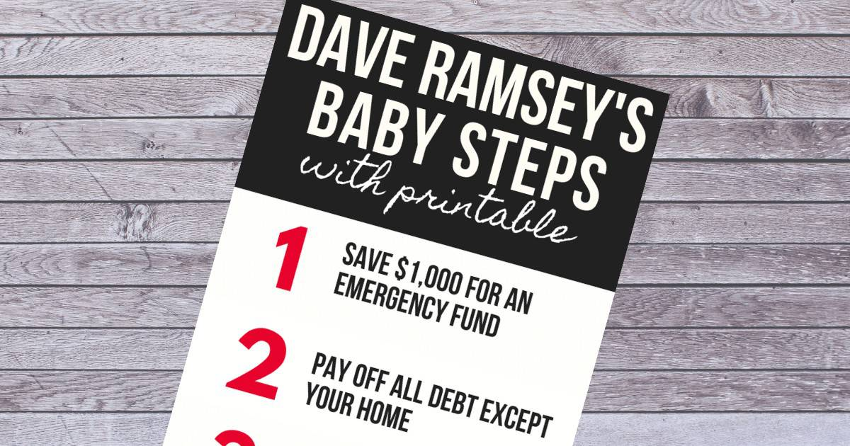 Dave's baby steps