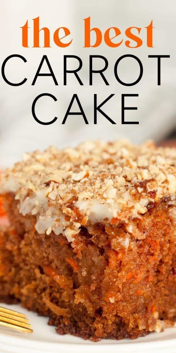 J Alexanders Carrot Cake Recipe Pin For Pinterest