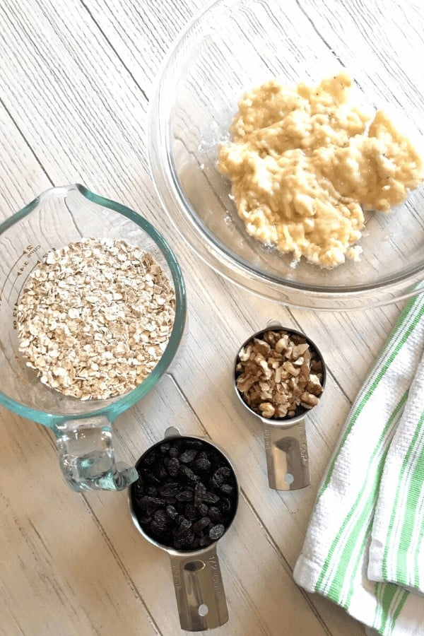 Ingredients for Daniel Fast granola bars