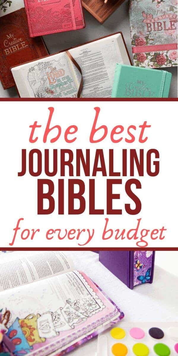 Best Journaling Bibles for Any Budget