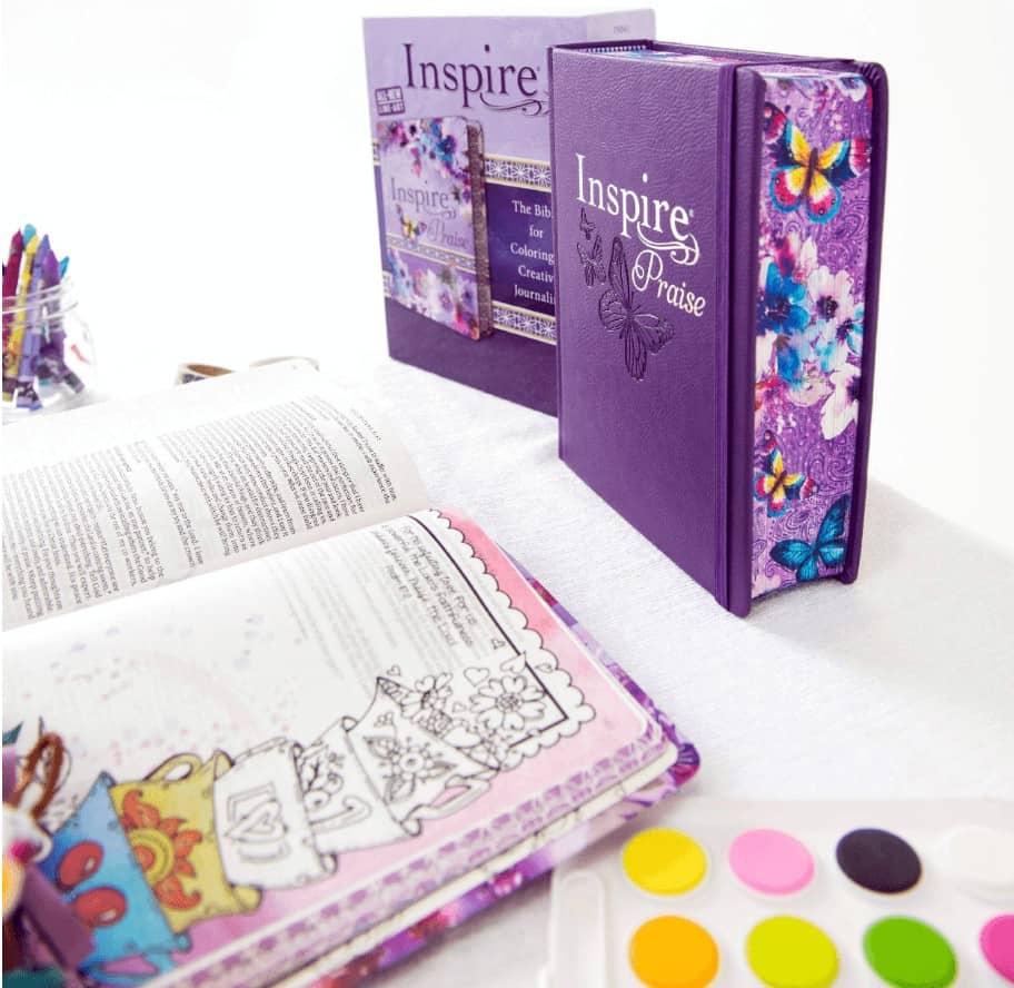 Inspire Praise, the Best Journaling Bible