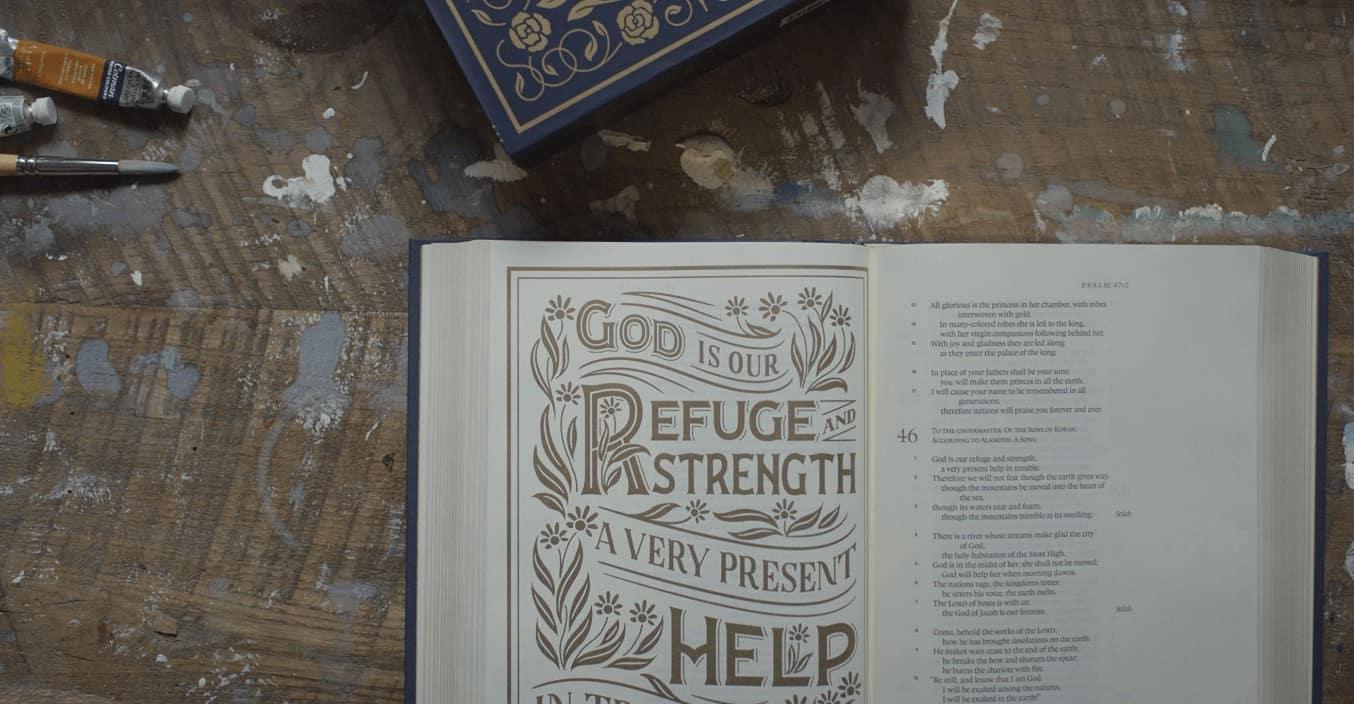 Illuminated journaling bible