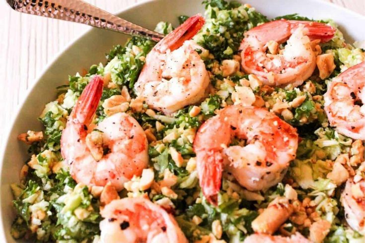 Shrimp Kale Salad