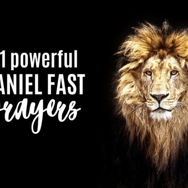 21 Prayers for the Daniel Fast