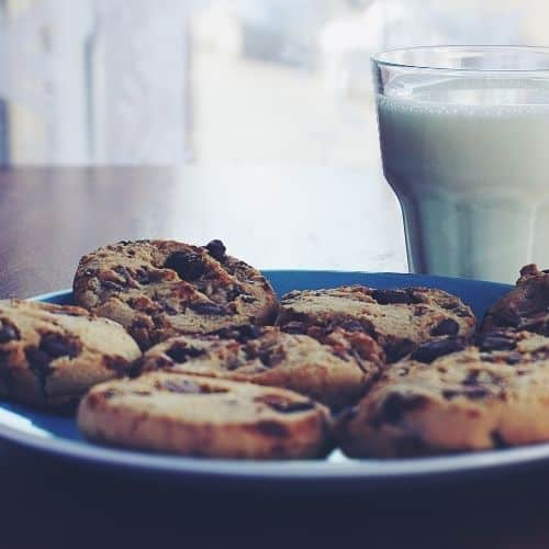 Plate of cookies - Daniel Fast side effects