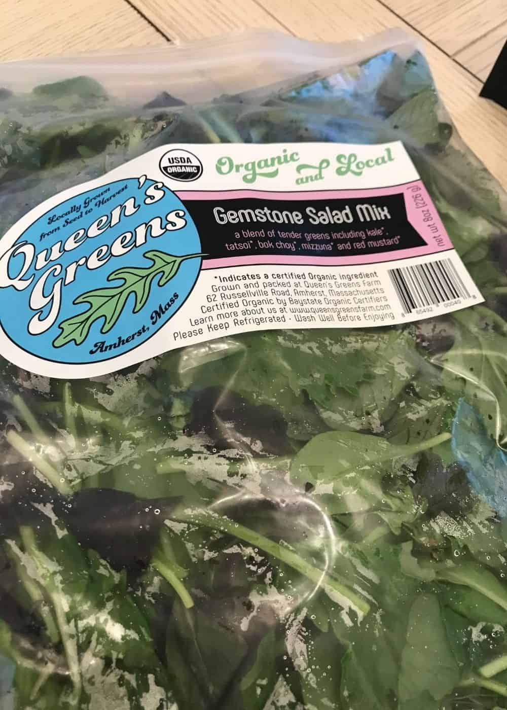Greens in my mamasezz box